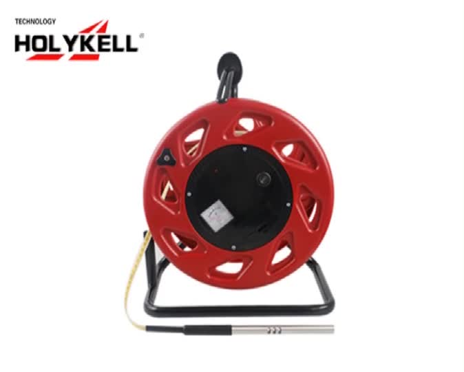 Holykell 200m ABS Steel  Ruler Deep Well Water Level Meter