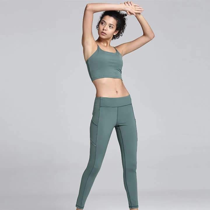 Women Active Fitness Wear Slim Fit Gradient Athletic Sports Custom Sweatsuit Workout Seamless Yoga Set
