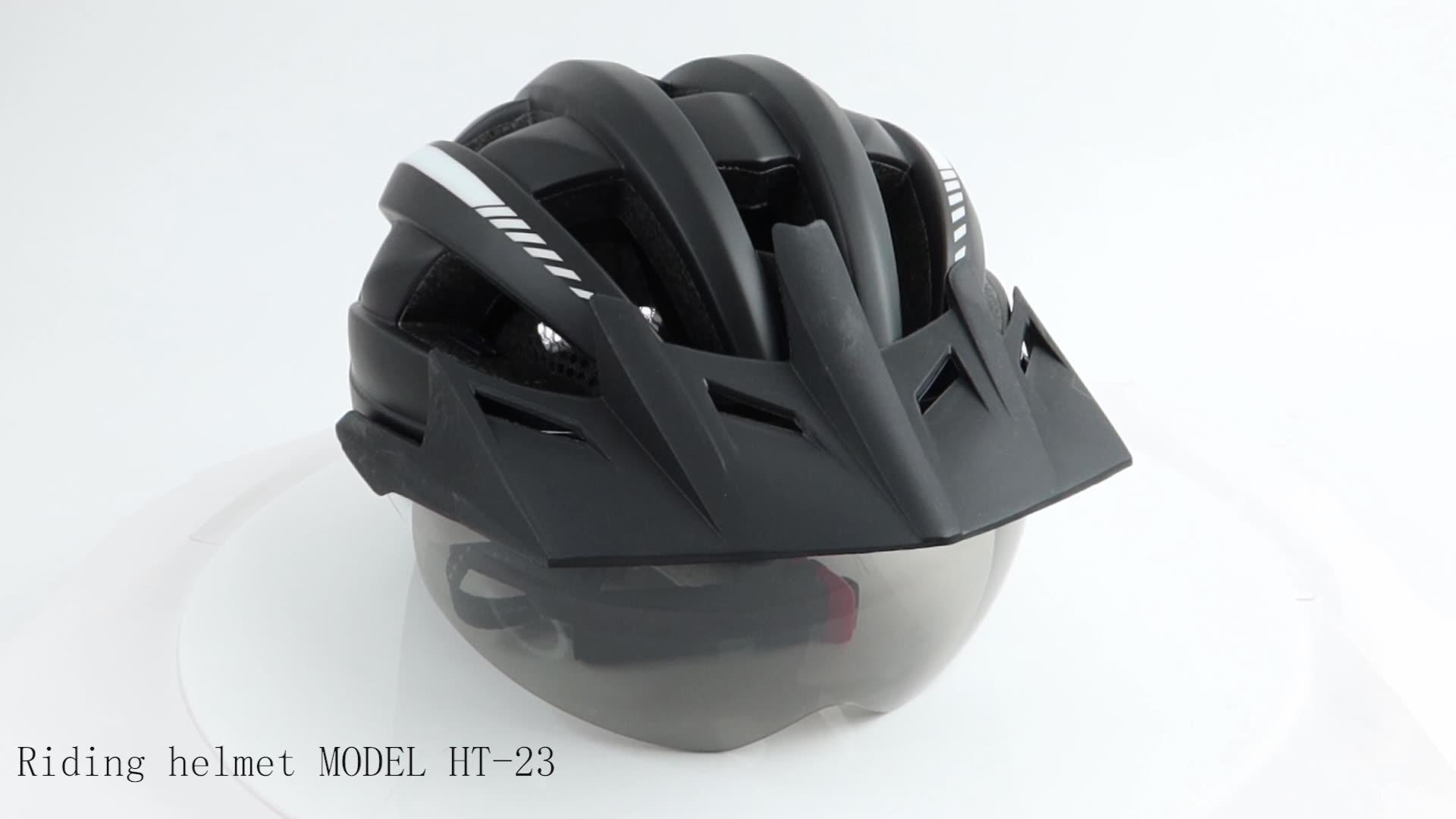 2020 Das Mulheres Dos Homens do Esporte ciclismo Capacete CE Certificado CPSC Capacete Da Bicicleta Capacete de Segurança Para Adultos Com Luz