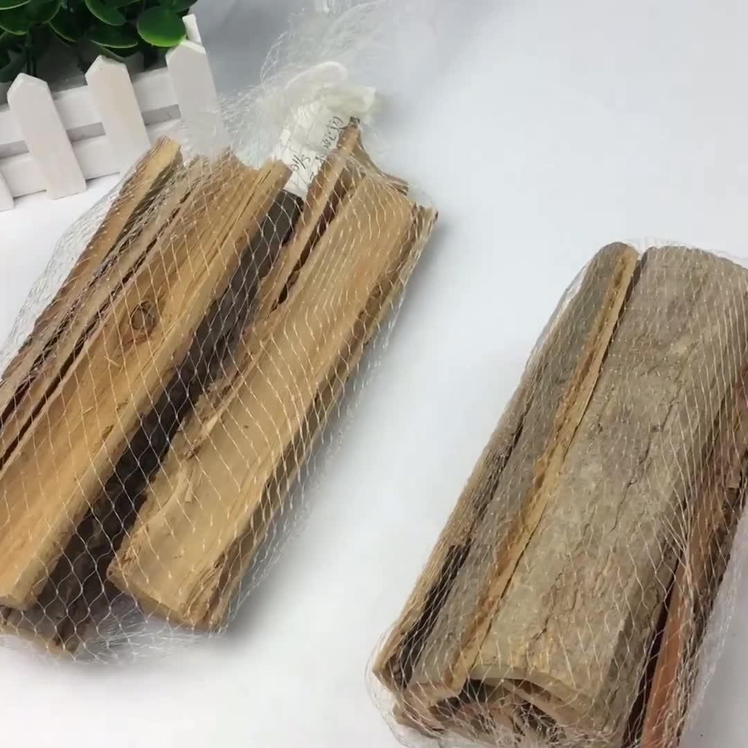 BSCI FSC Regali Del Mestiere per il giardinaggio naturale tiglio Di Natale fuoco di artigianato in legno di corteccia di albero decorazione