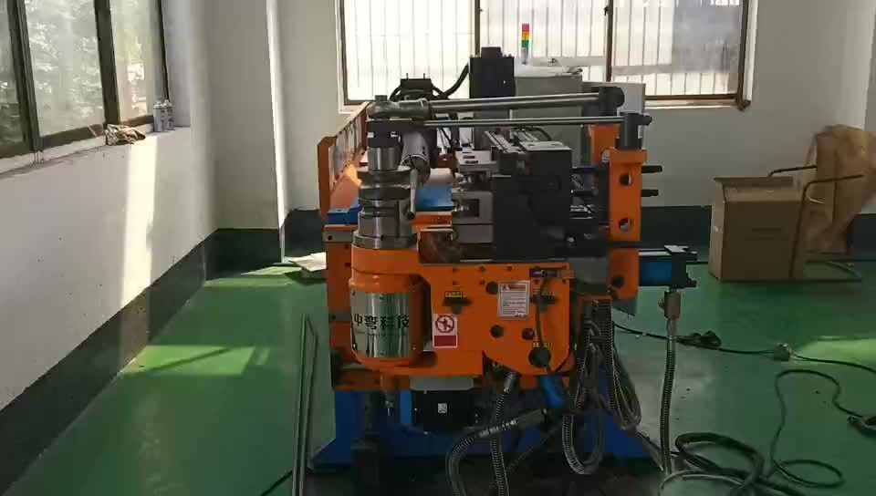 38mm bicycle u shape stainless steel cnc tube bending machine for pipe and tube &channel
