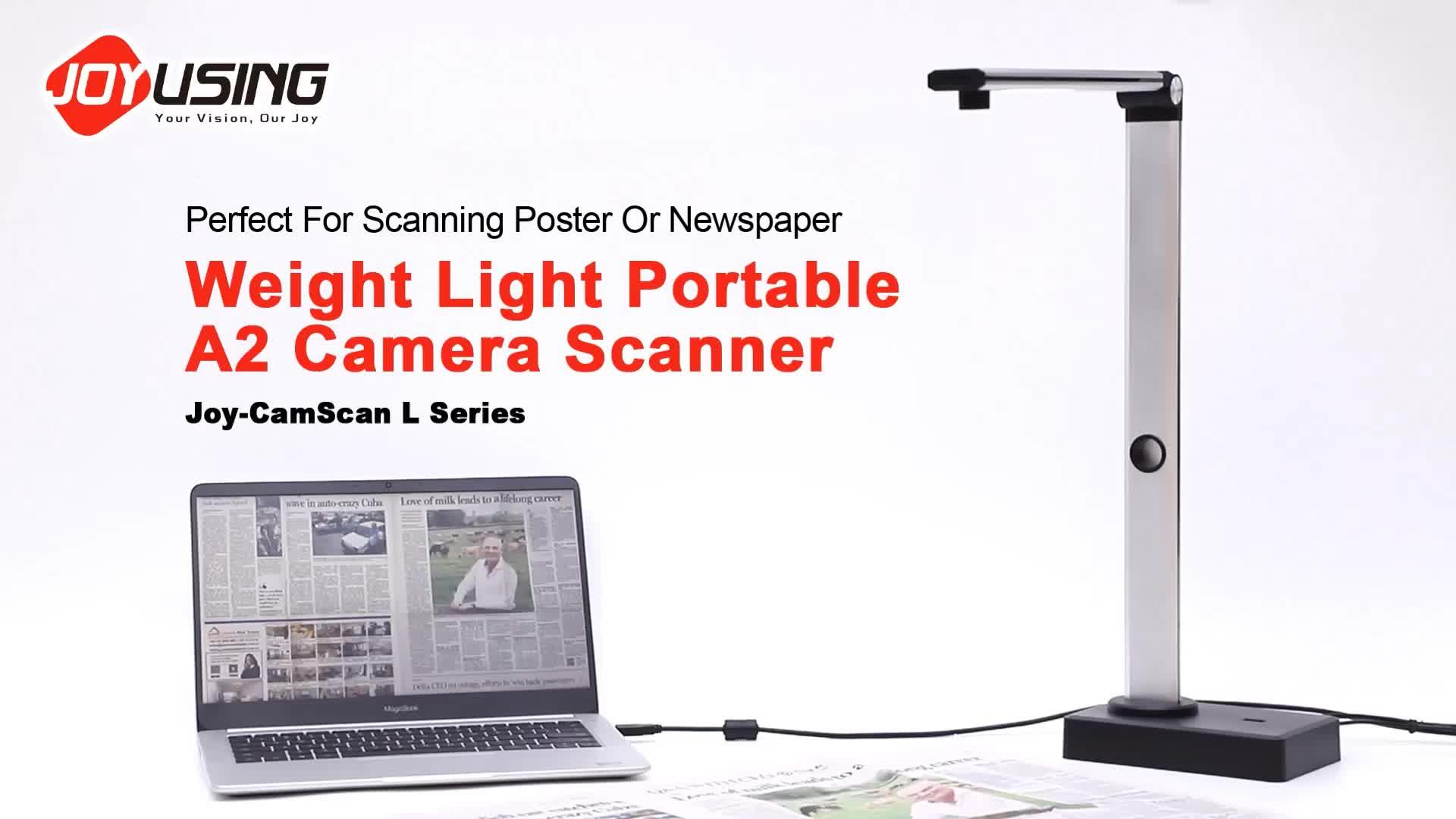 16.0MP 휴대용 큰 랩 형식의 A2 문서-Buy7days 문서 카메라