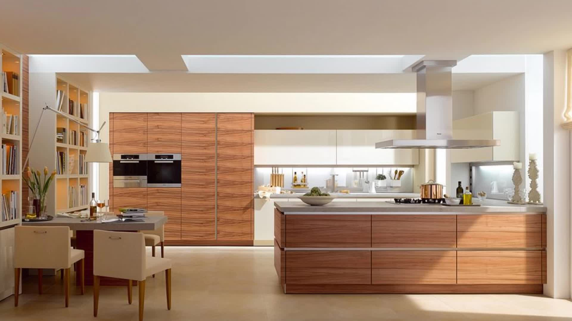 Melamine Cheap Price L Shape Kitchen Furniture Set With