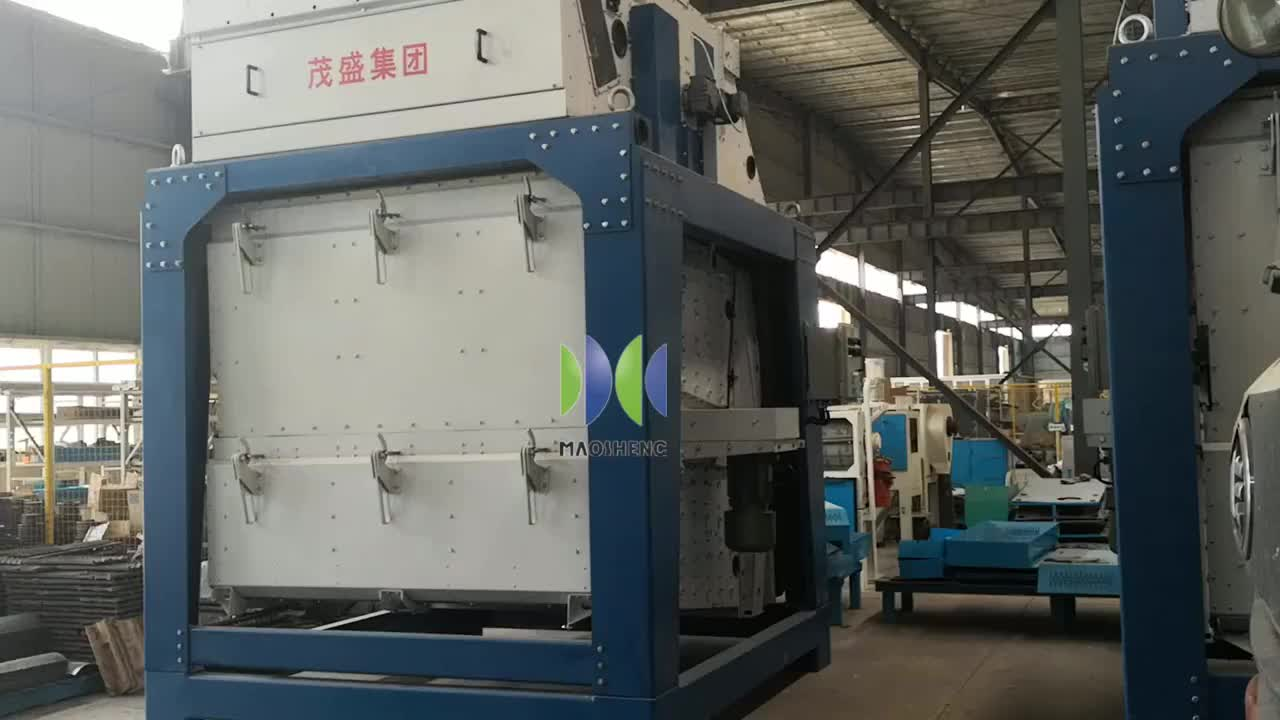 Large Capacity Corn Cleaning Machine Paddy Rice Seed Cleaner On Farm
