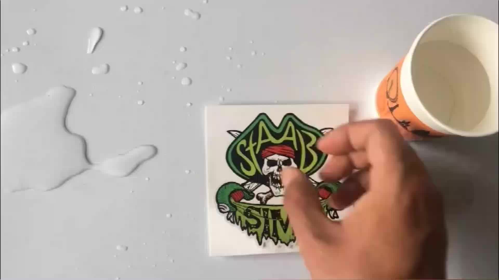 Colorful Adhesive Waterproof Die Cut Logo Stickers Custom PVC Vinyl Stickers