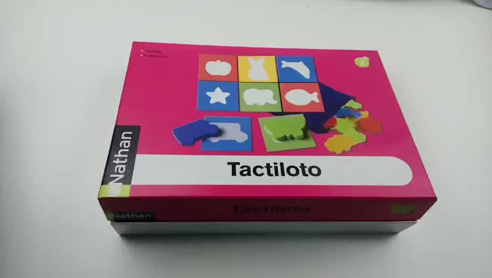 Custom playing card game printing making wooden board games with box, board game for children