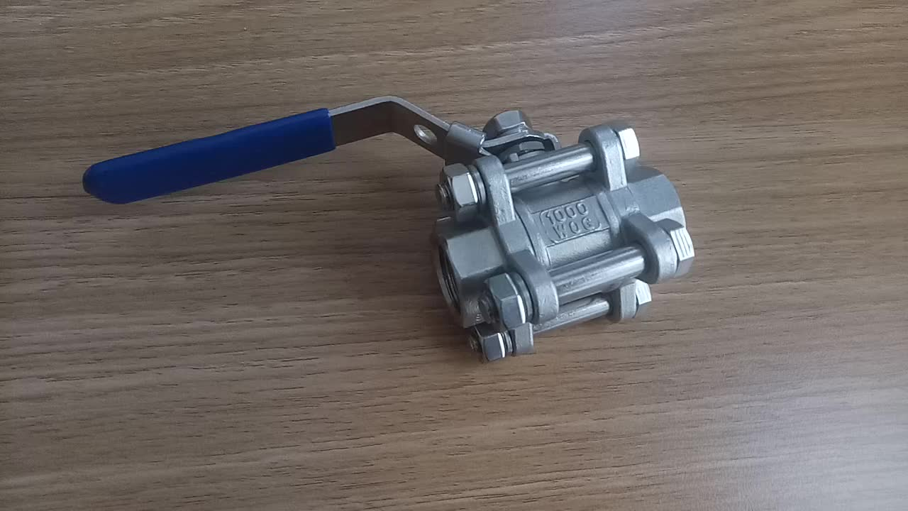 3PC Ball Valve Precision Castings