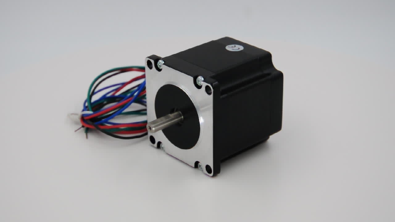 Plug-in connector Nema 23 Stepping Motor 2.0A 1.26Nm Single Shaft, Wholesale