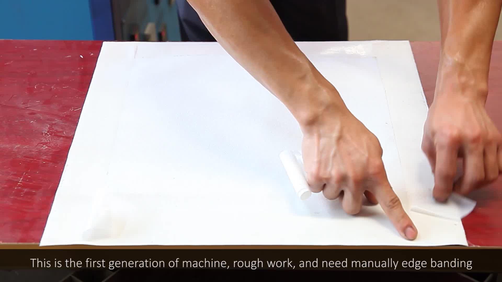 China lieferte eine neue Maschine zur Herstellung von geschnitztem Wandpaneel aus Leder 3d