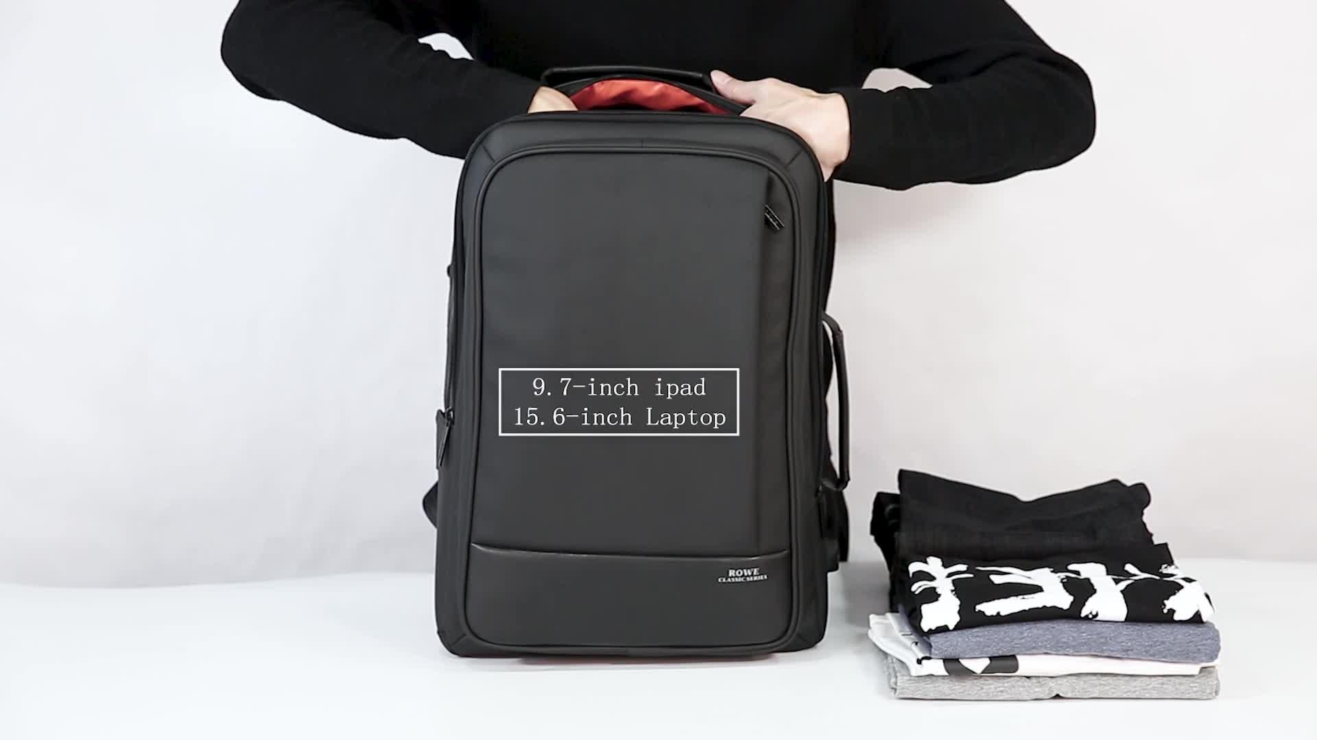 ROWE 15 inch laptop back pack kantoor rugzak beste rugzakken tas voor studenten met laptops