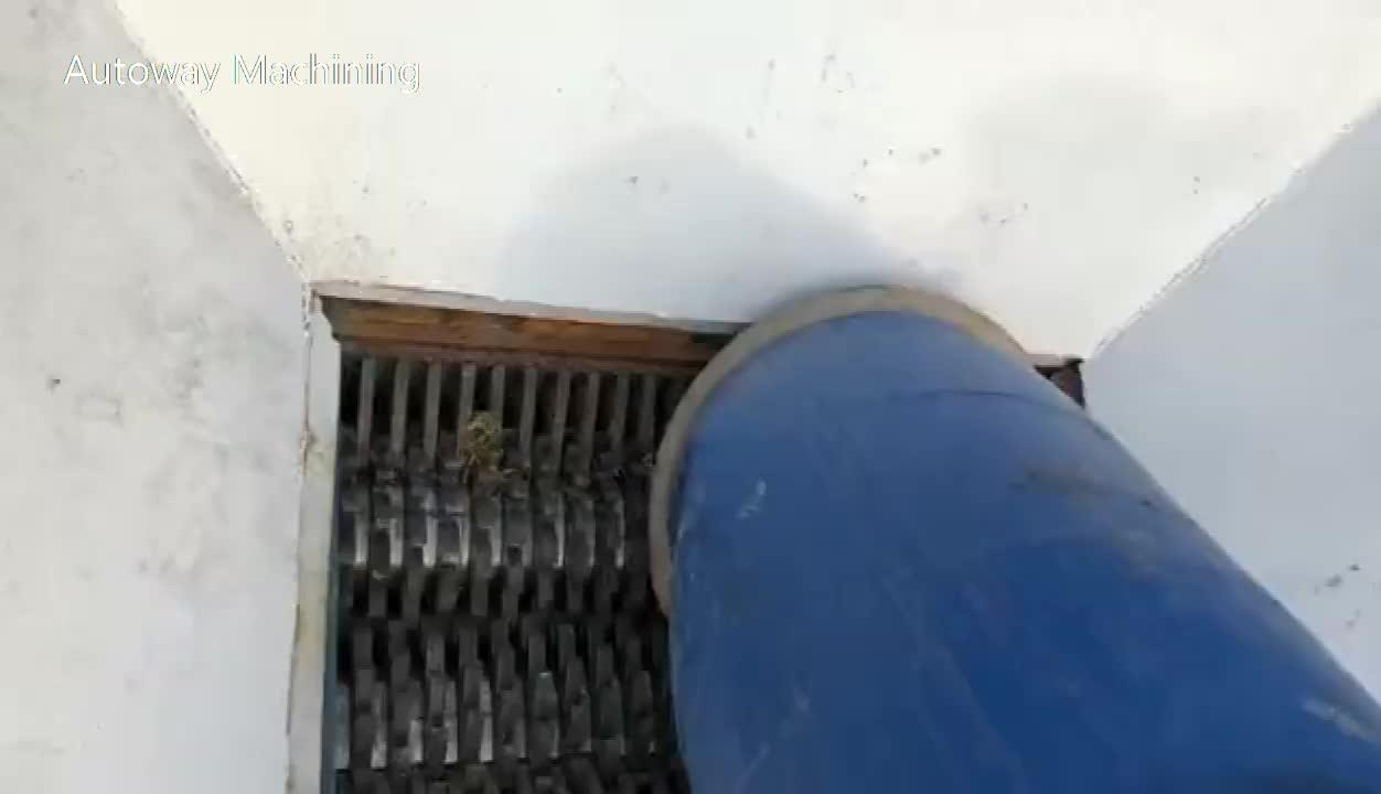 I migliori prezzi rifiuti pneumatico trituratore pneumatico usato trituratore macchina con grande capacità/filo di vendita caldo tubo trituratore macchina/