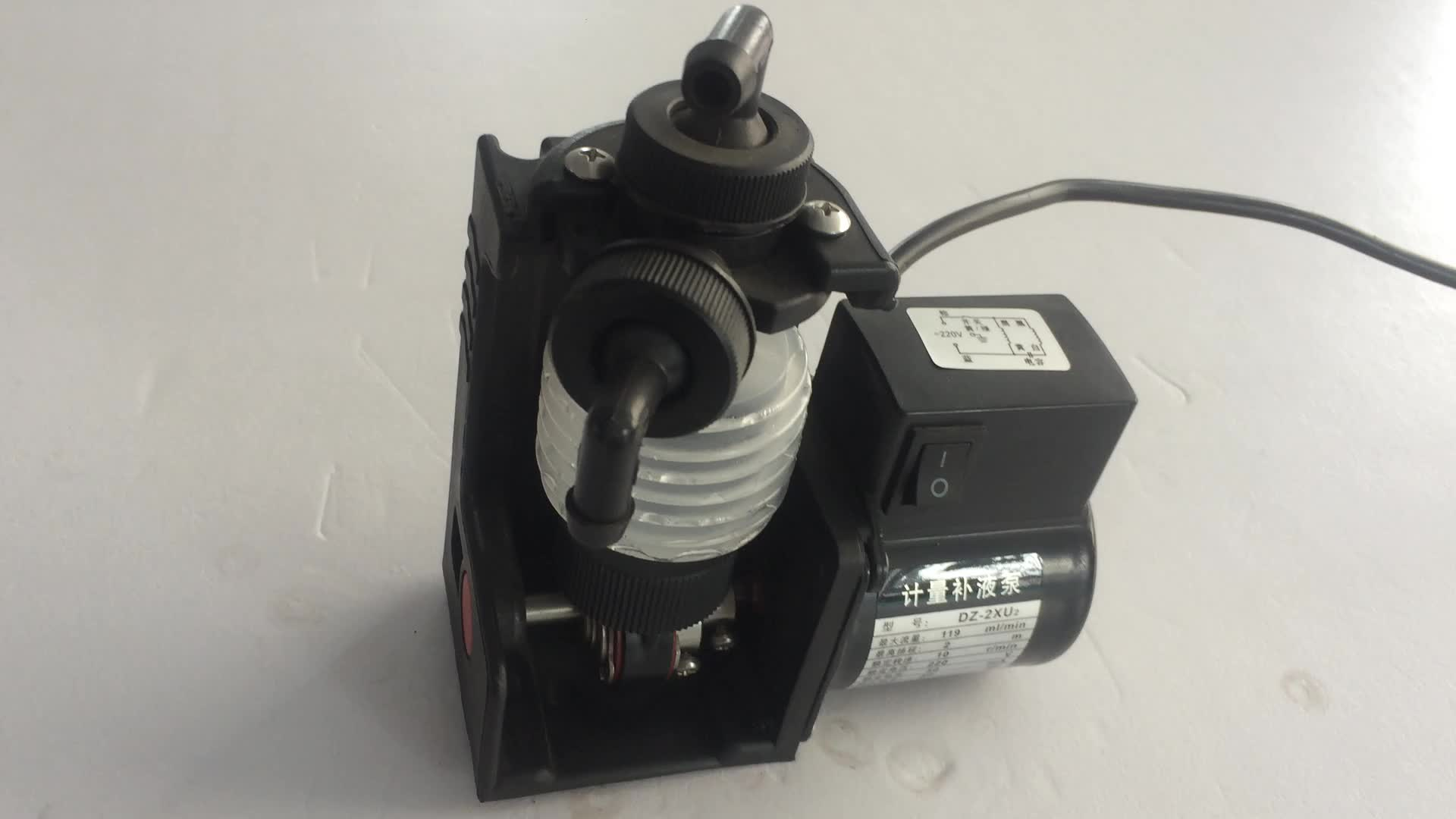 SISAN DZN-2Z Japan Iwaki 4-20mA and relays control auto metering pumps micro dosing pump