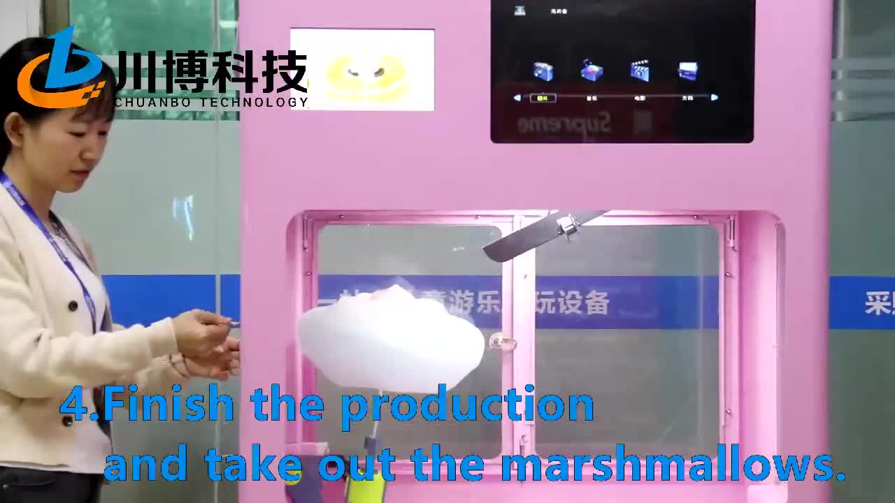snack machine automatic cotton candy maker for you