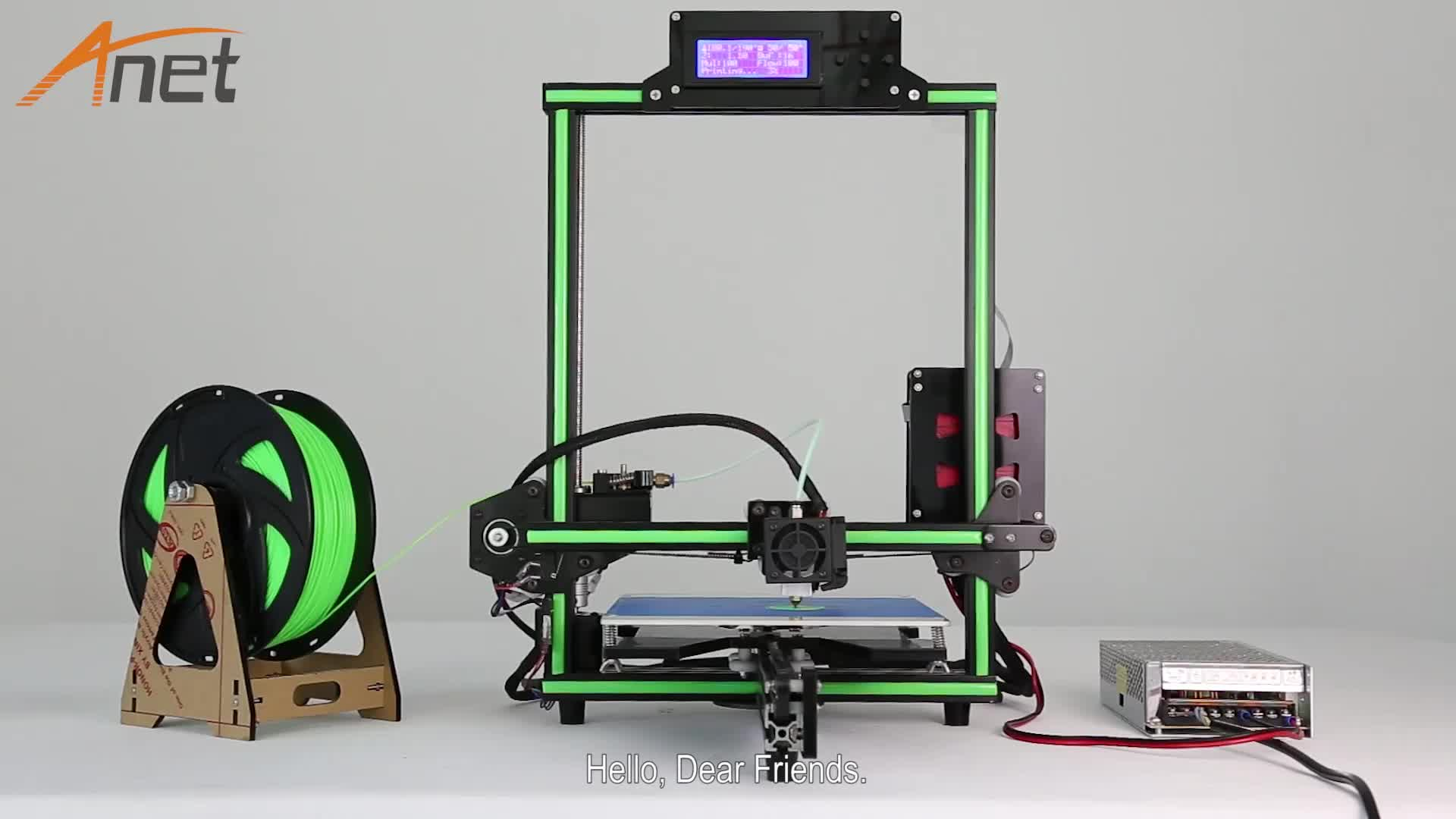 Ce certification industrial diy prusa i4 3d printer big - Buy 3d printed house ...