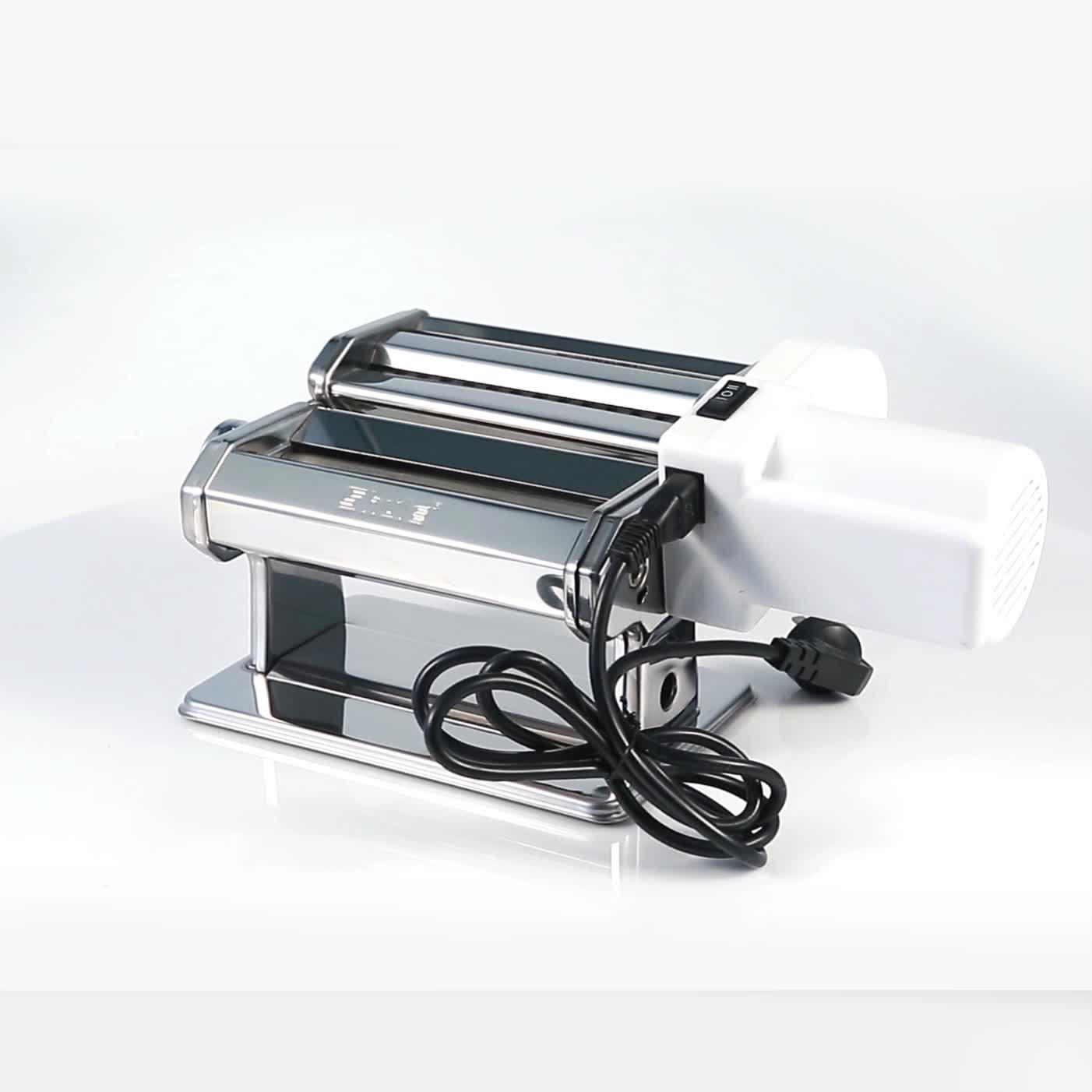 คลาสสิกไฟฟ้า Professional สดเครื่องทำพาสต้าเครื่องมอเตอร์ราคาสำหรับร้านอาหาร