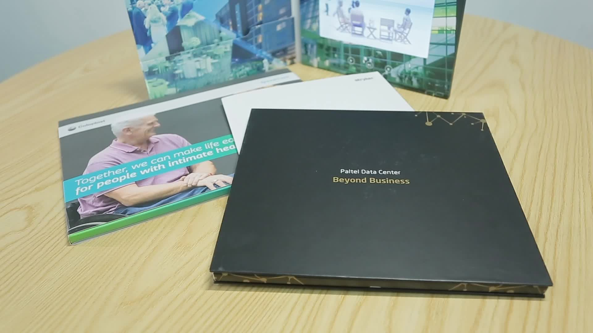 """ETG Promotional 4"""" HD Lcd Video Greeting Card Modules, Video Brochure Components"""