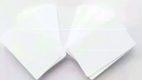 PVC 4 Color Inkjet Printable Plain White PVC ID Cards