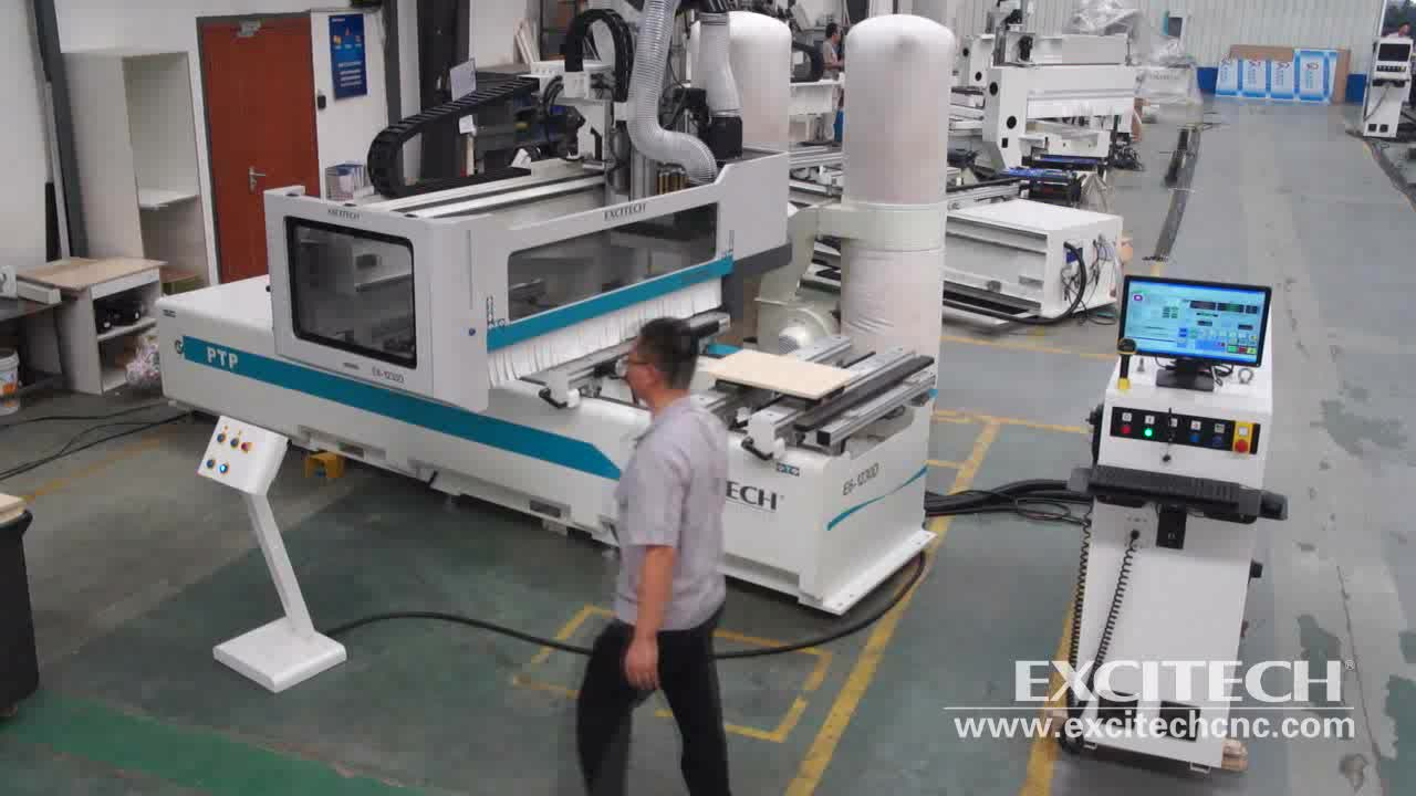 E6 PTP working center pods and rails table machine for sale