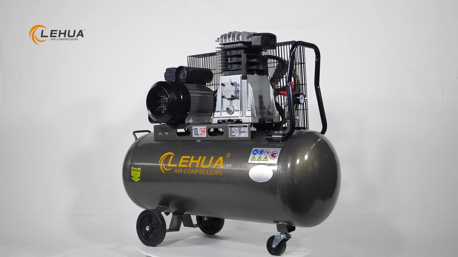 March Promotional Products piston type small portable 3hp air compressor 100 liter