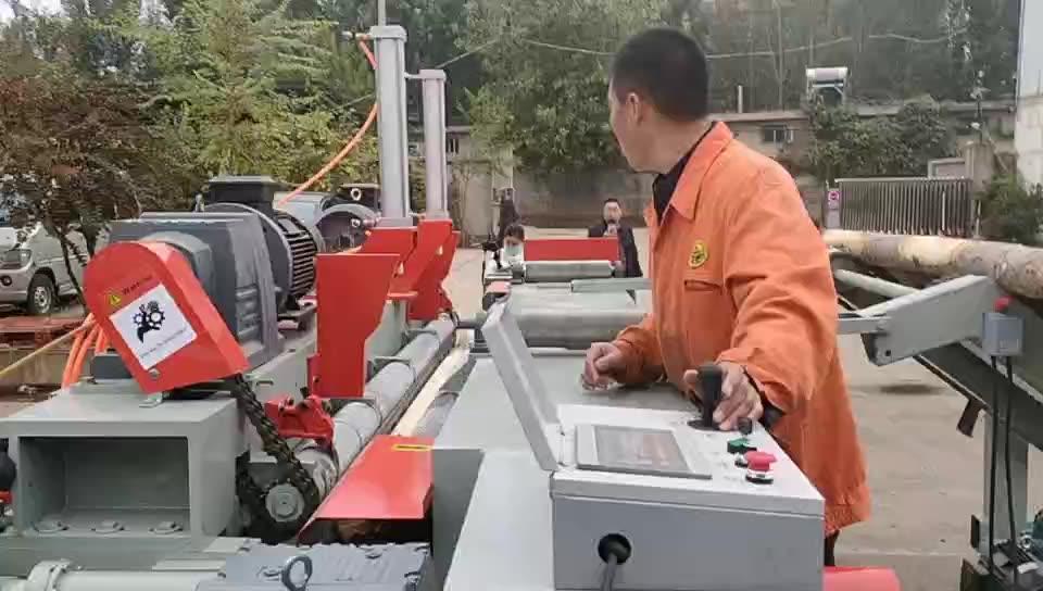 Multiplex Making Machine Spindleless Fineer Rotary Peeler Zware 8ft Fineer Peeling Machine