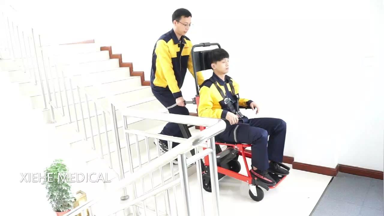 Xiehe en çok satan ambulans sedye katlanır merdiven merdiven tahliye sedye