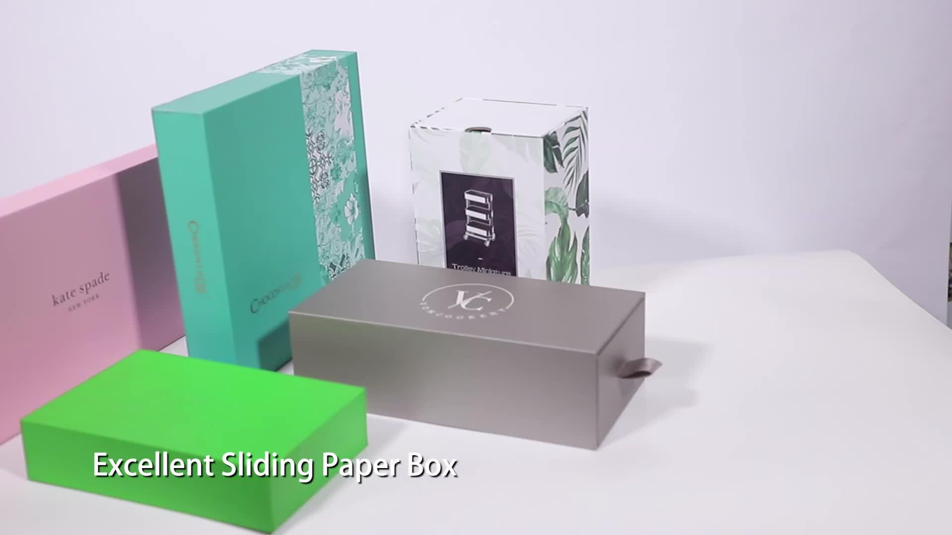 Various Sizes Cardboard Macaroon Cake Boxes With Customized Logo Printed