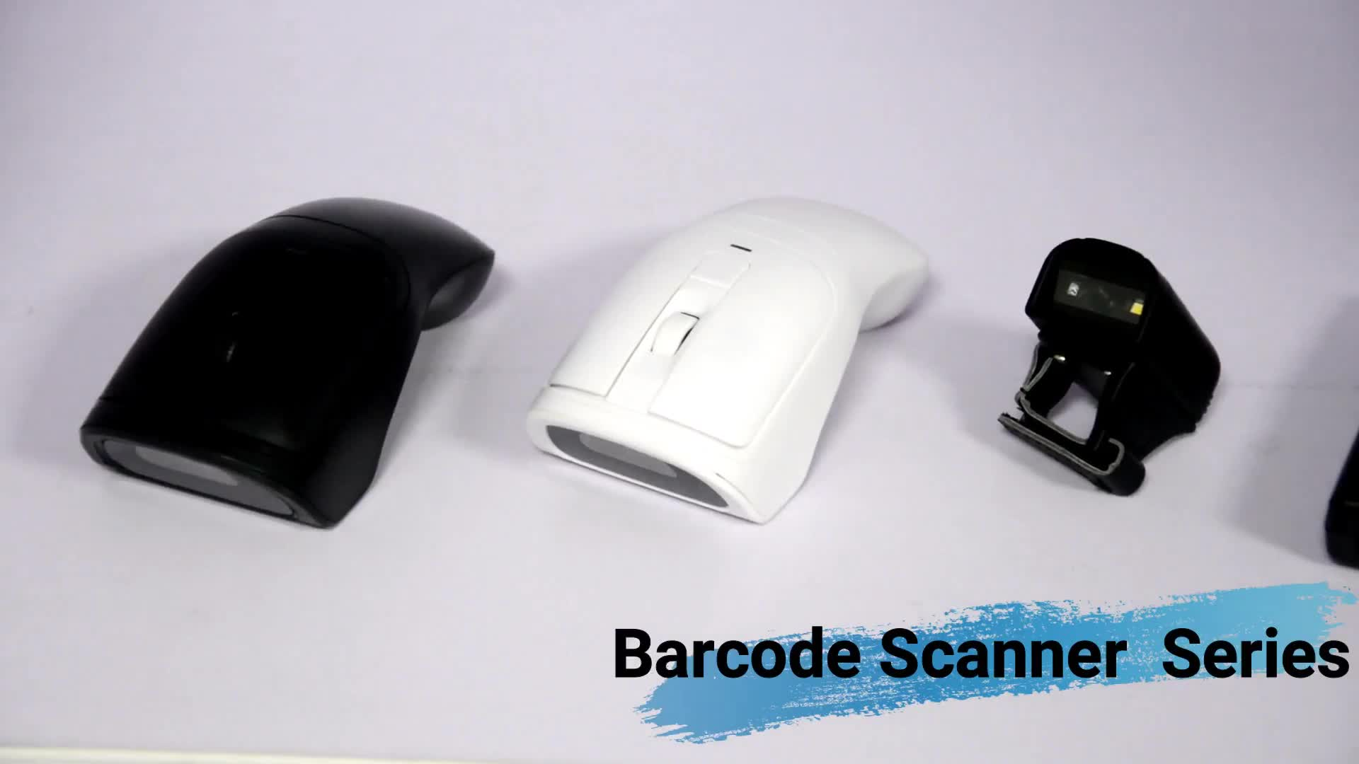 Mini Wireless wearable 1D Ring Bluetooth Barcode Scanner HS-S02L
