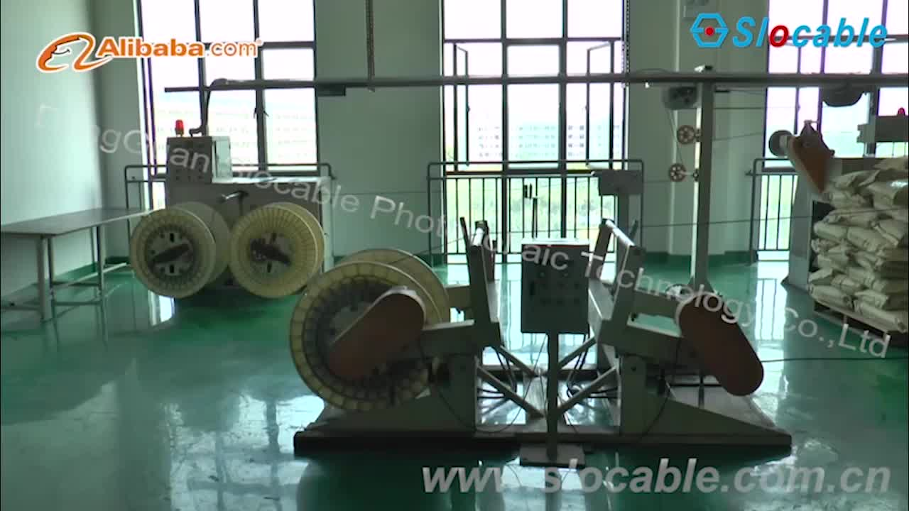 Slocable UV Resistance XLPE Twin Cores 4mm2 Electrical Cable Wire