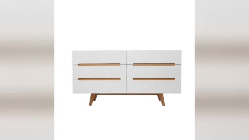 White bedroom drawers modern wooden drawer storage cabinet