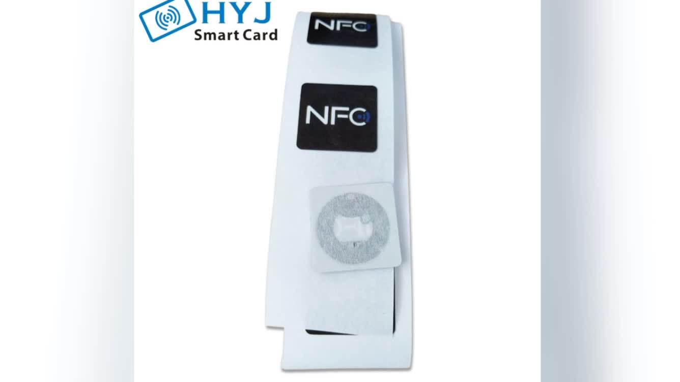 Cheap security brand protection fragile paper tamper proof antenna rfid nfc tag