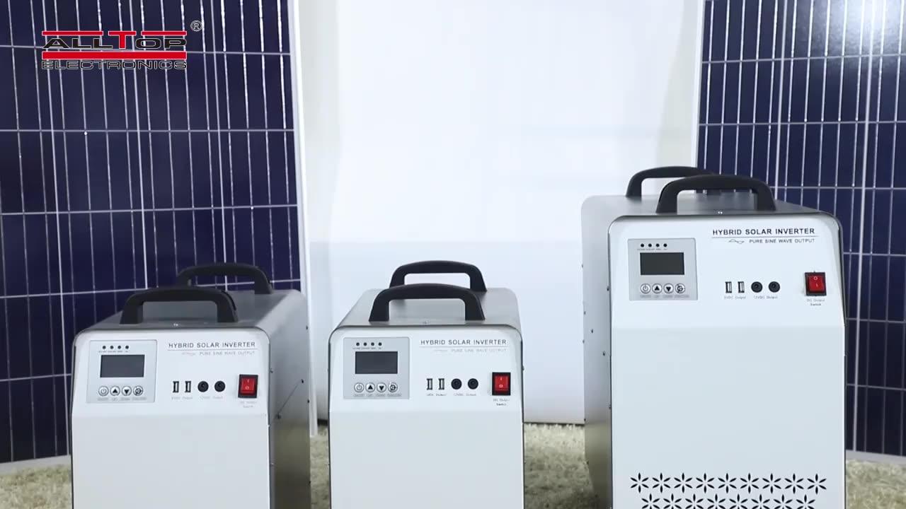 ALLTOP kapalı ızgara üç fazlı ticari 200w güneş enerji inverter sistemi