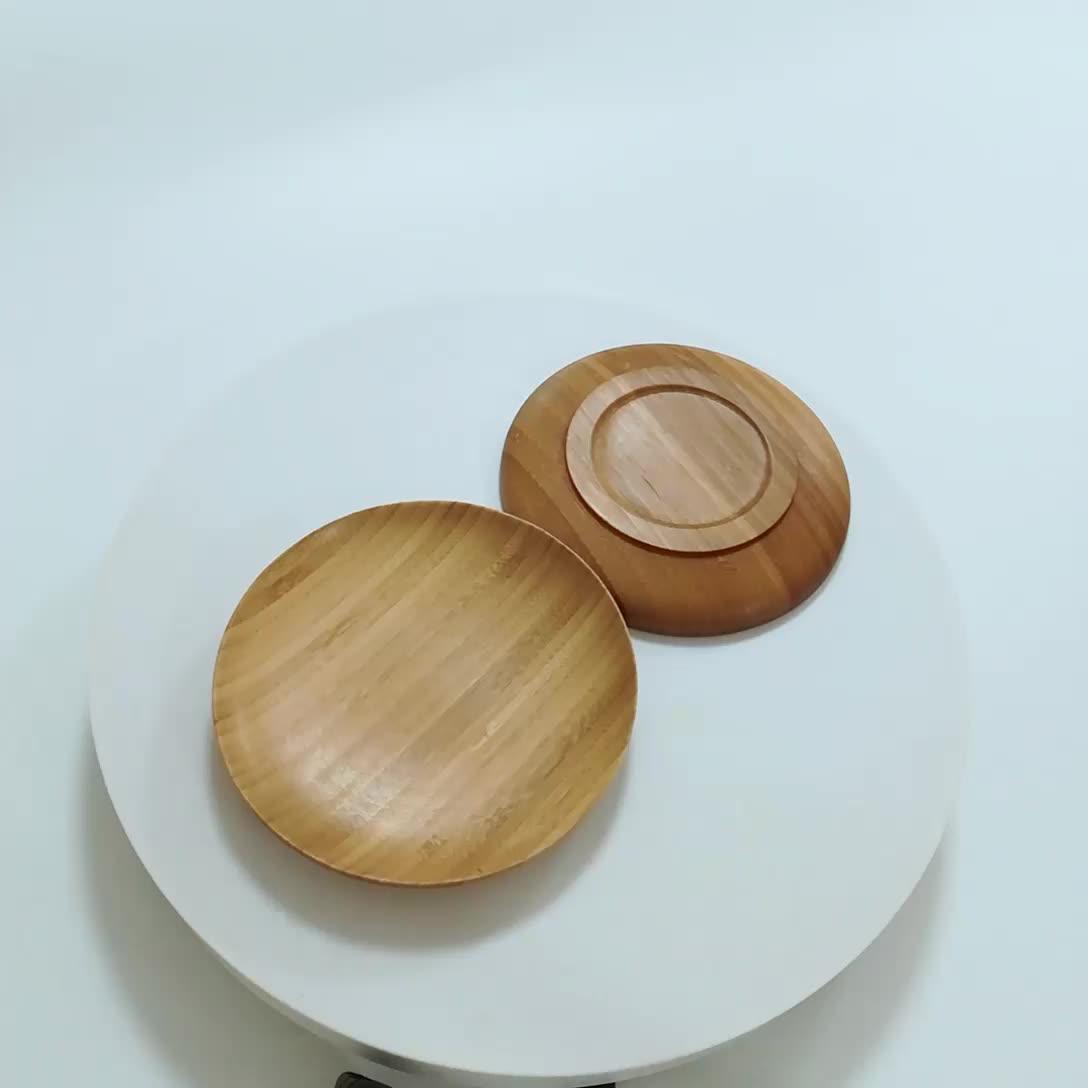 OEM Добро пожаловать 100% печать меламиновая дешевая бамбуковая пластина зарядного устройства, бамбуковые пластины маленькие