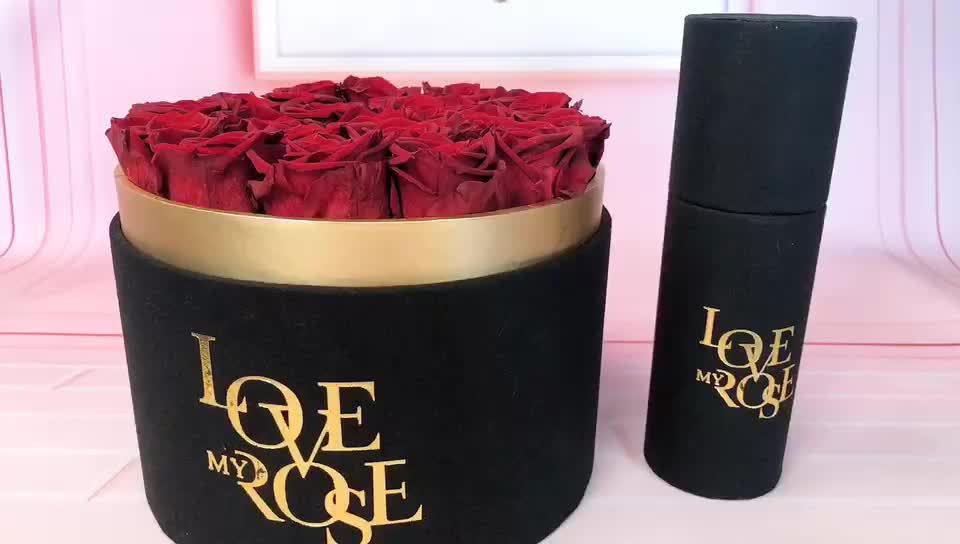best selling new product wholesale preserved eternal rose bouquet for cheap mothers day gift