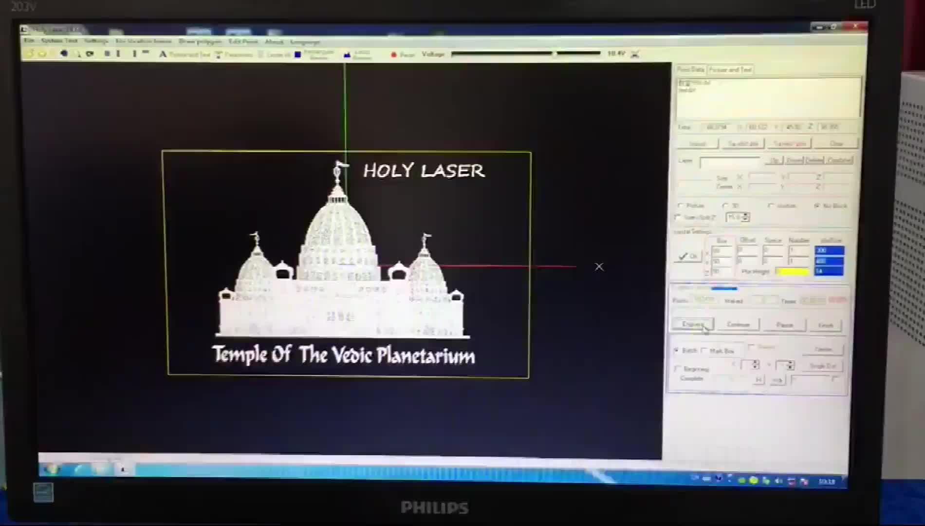 Foto 3D preço da máquina de gravação a laser de cristal máquina de gravação a laser