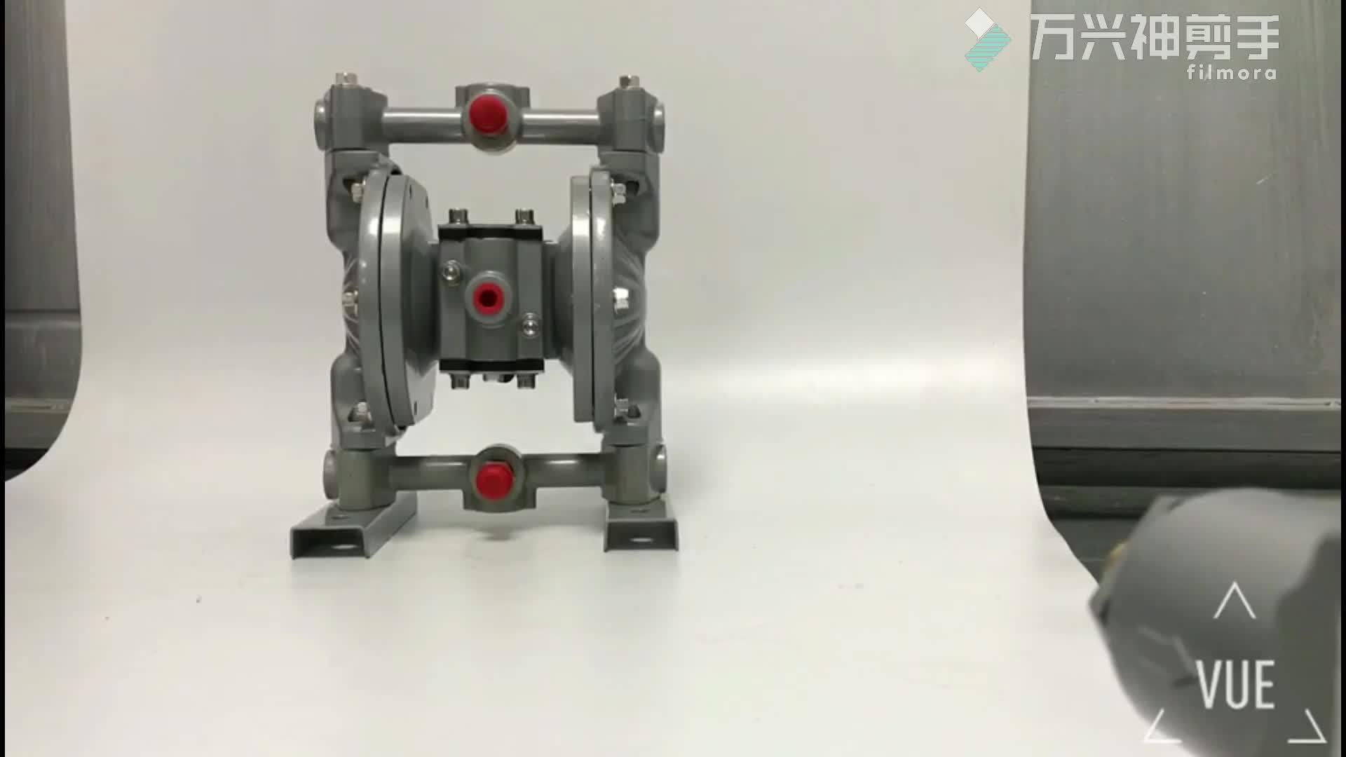 15L/Min PTFE Double Way Ink Circular Pump BML-10 Membrane Pump/Air powered pump