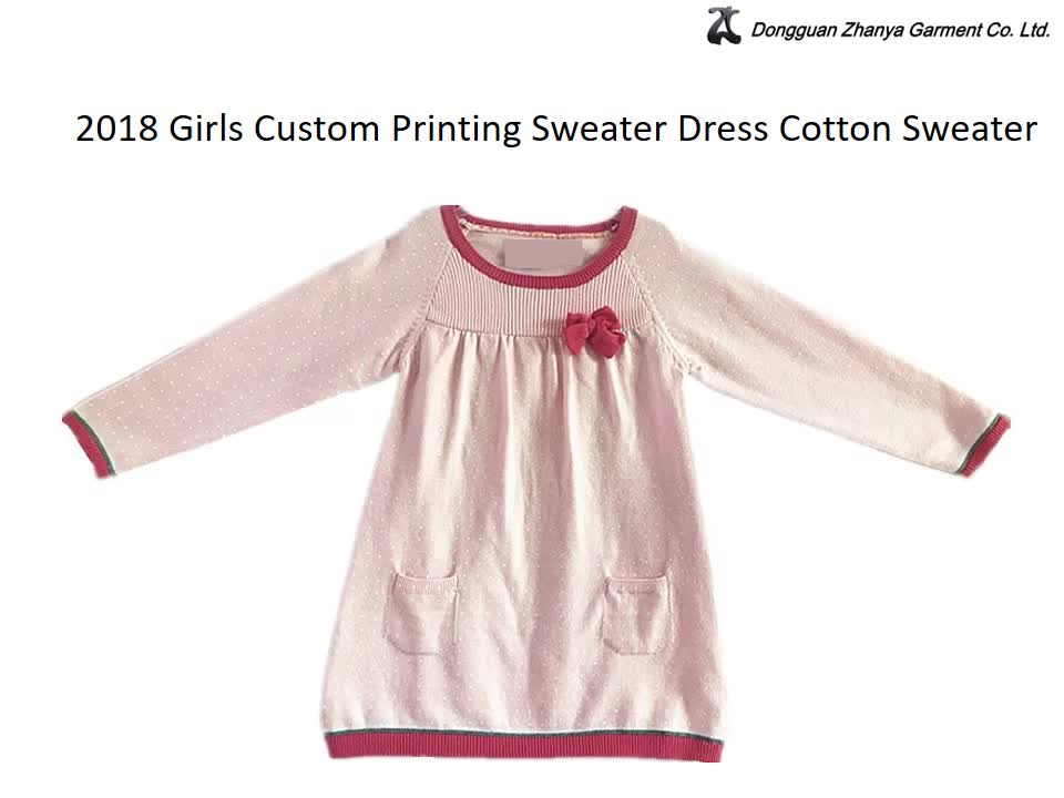 China Fashion Cashmere In Stock Girls Winter Sweaters For Dress