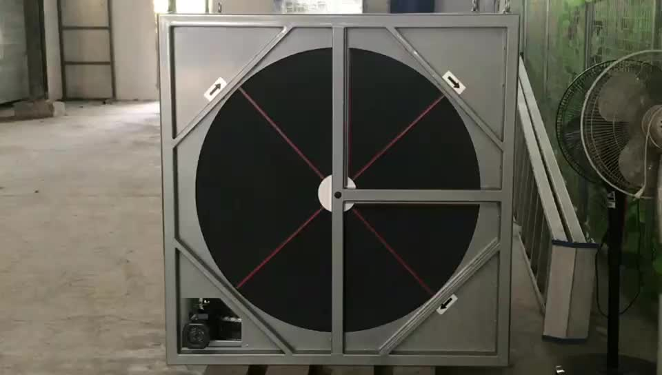 Adsorption desiccant wheel with flange stainless steel cassette with ss304 rim for industrial dehumidifier