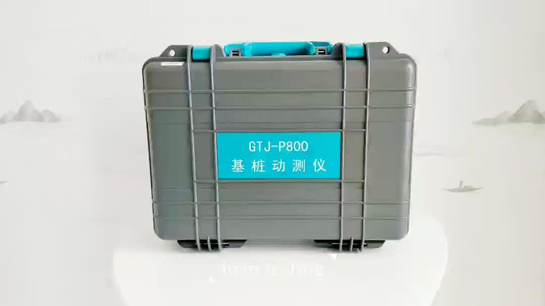 P800 foundation stapel dynamische detector gebreken testen integriteit tester