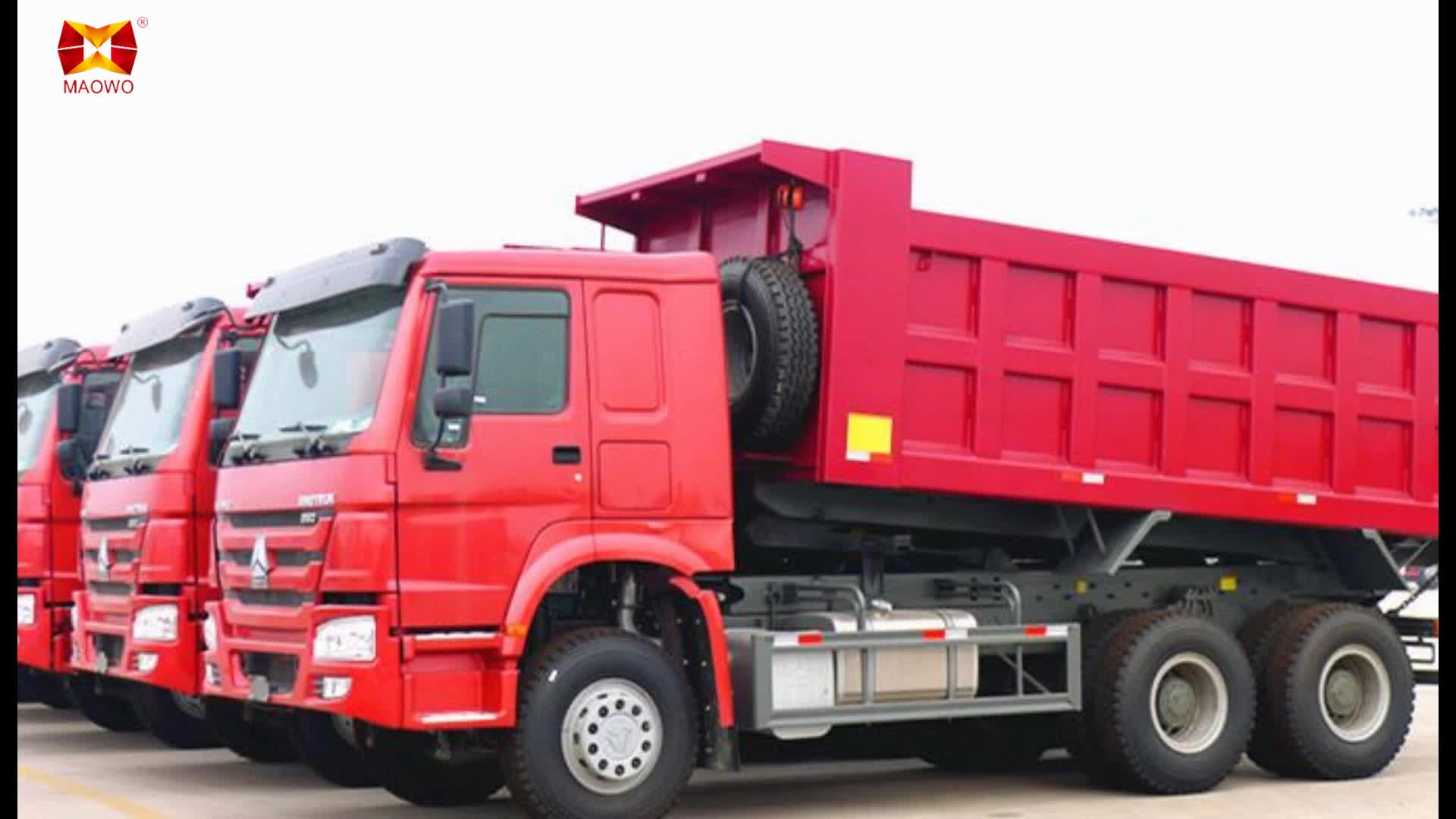NEW HOWO 6x4 Mining Truck dumper trucks price for China Export