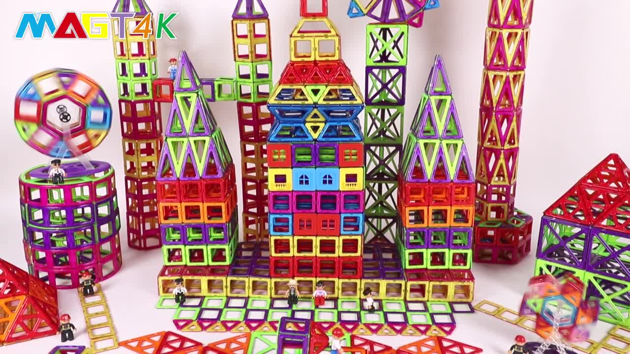 2019 new magnetic diy educational building blocks kids toy CPSC, CE, EN71, ASTM