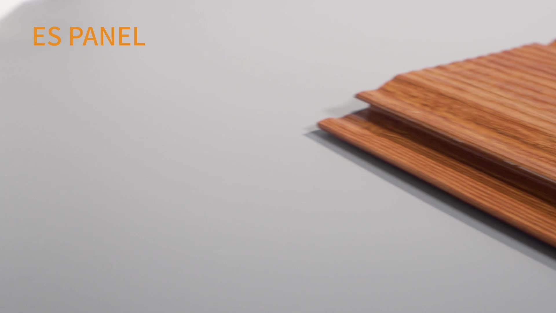 3d effect polyurethane sandwich groove metal siding panel decorative