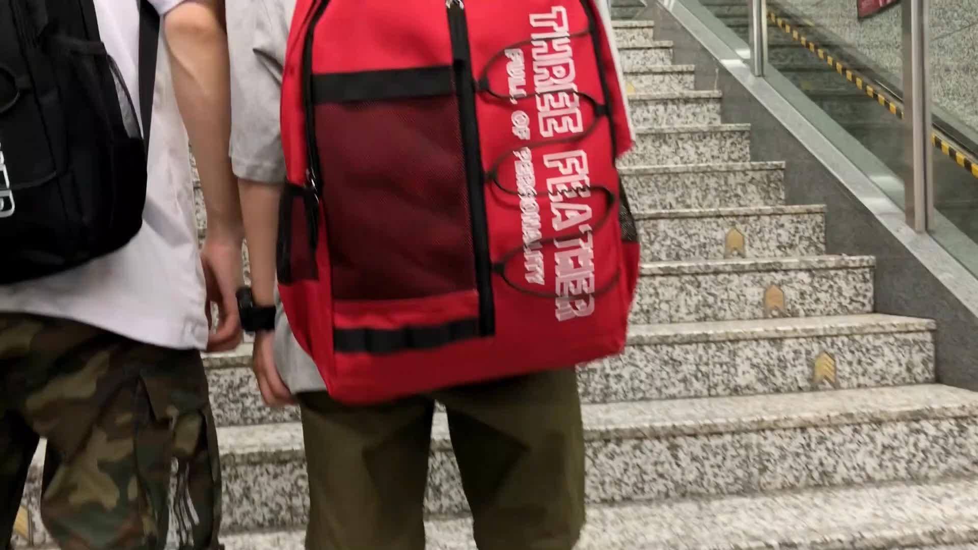 Large back bag laptop backpack student school bag teenager