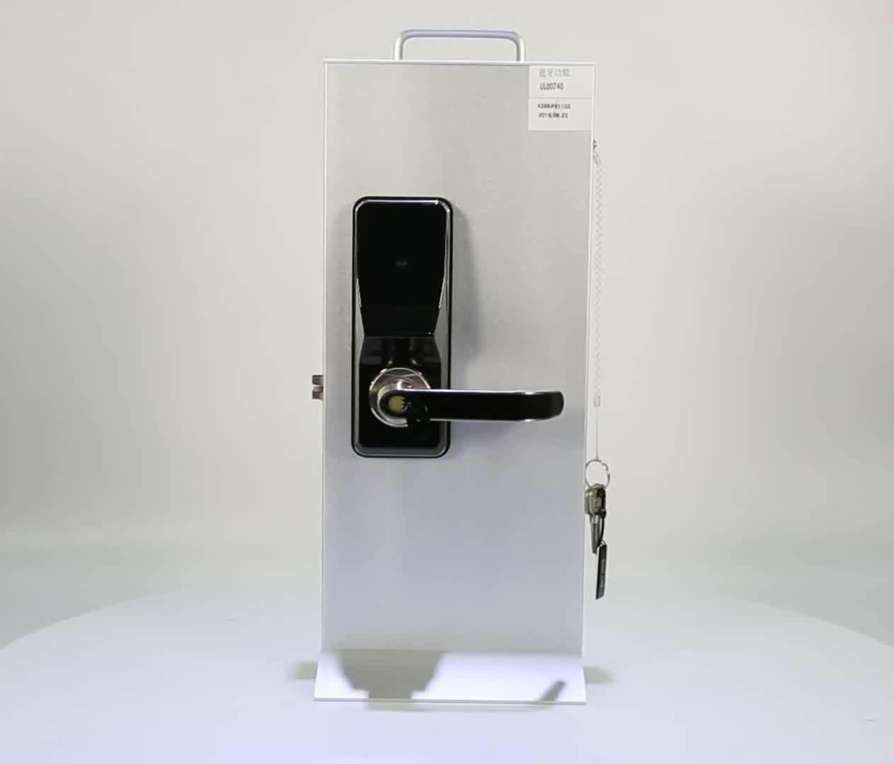 2017ใหม่ล่าสุดรุ่นรหัสPinประตูล็อคด้วยกุญแจฟังก์ชั่น