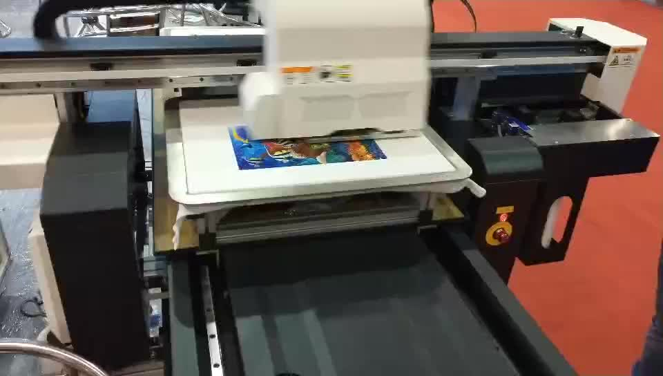 TECJET Digital Direct To Garment T-shirt printer, DTG Printer diy t shirt logo printing machine