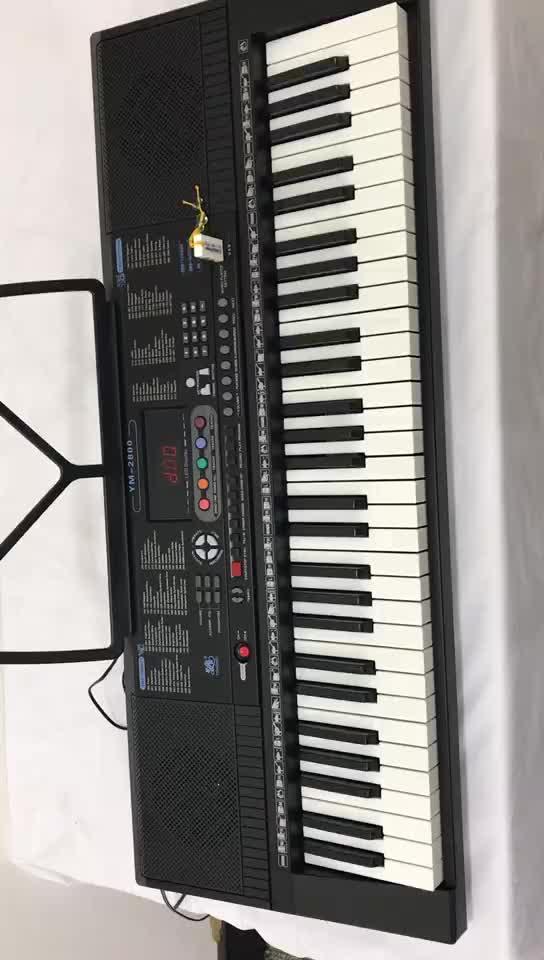 YM-2800 Professionale popolare tastiere teclados musicales organo elettronico 2019 modello