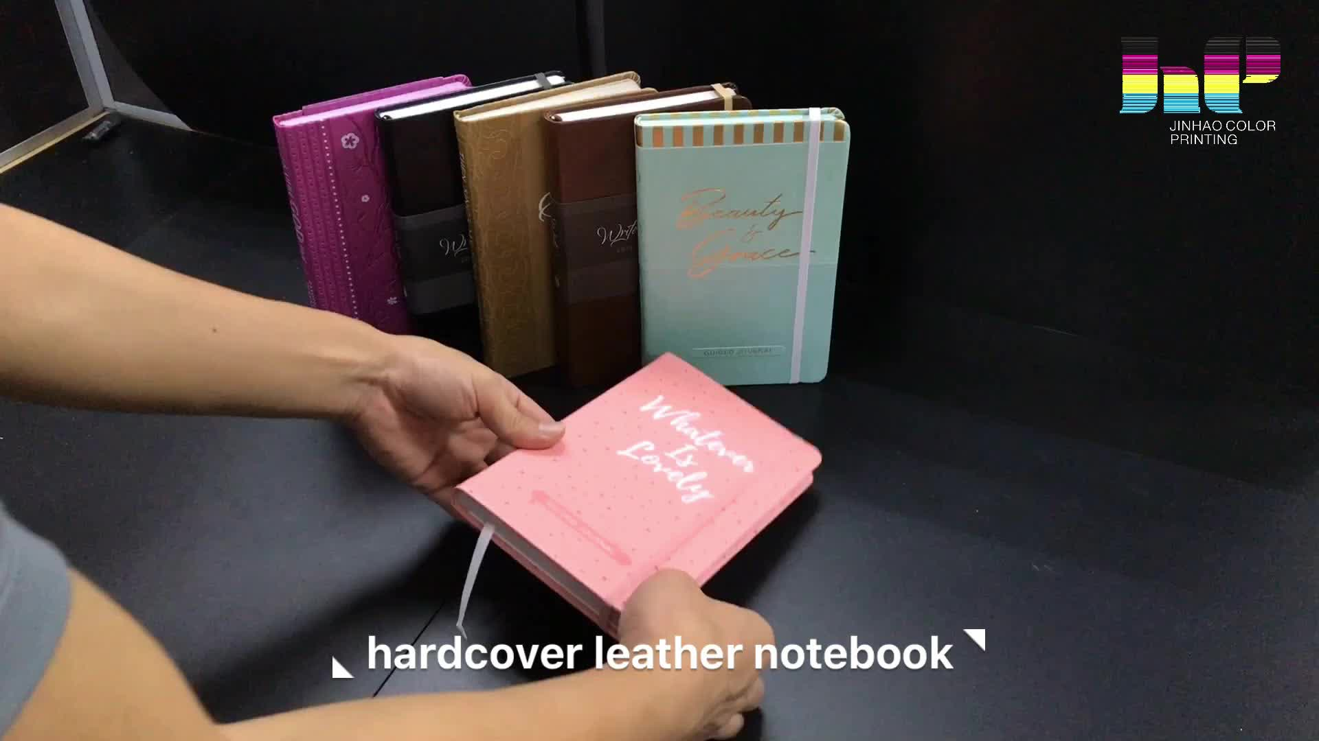 Elegant  cheap custom Notebook Printing Full Color Notebook printing service in China