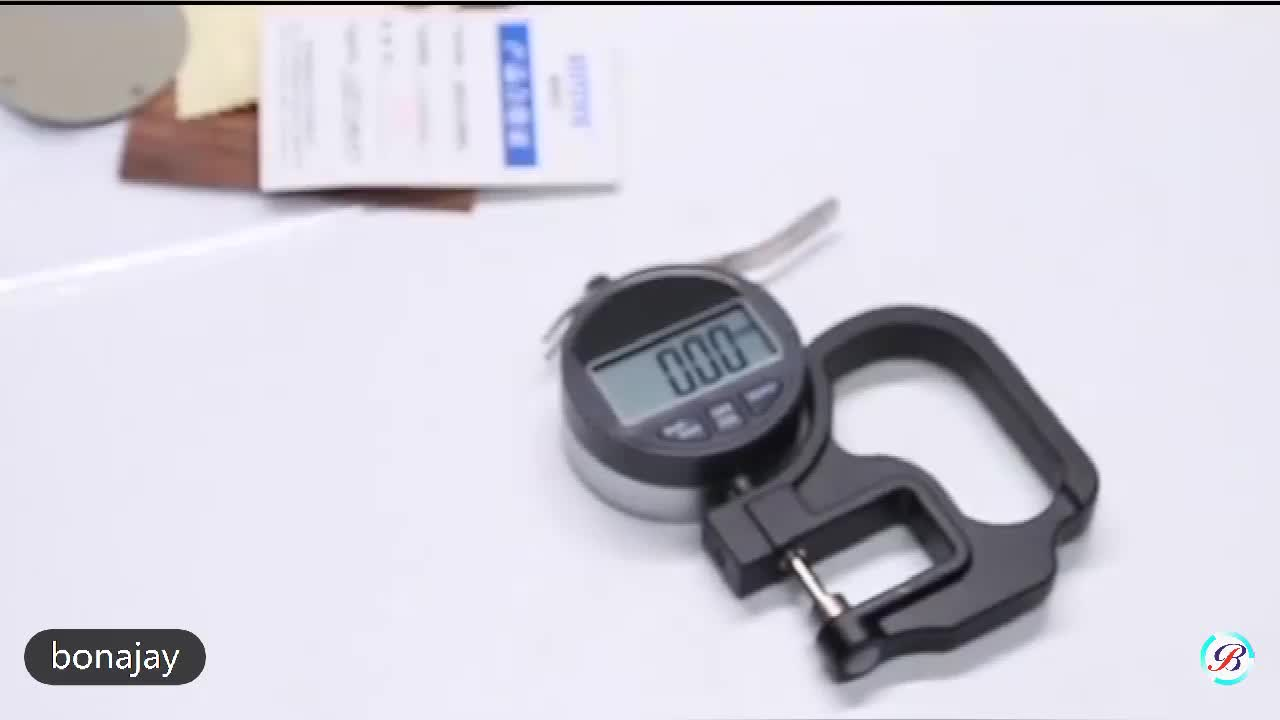 0.001mm thickness gauge for plastic film 0-25mm