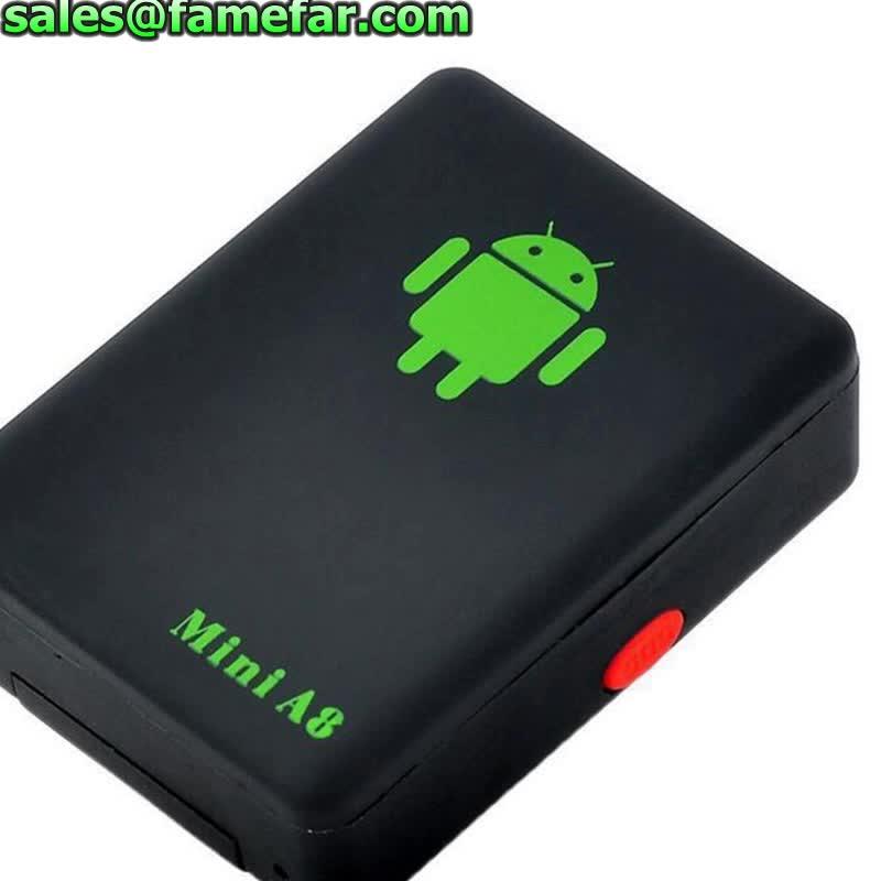 A8 GSM GPRS GPS LBS Global Locator Real Mini Time Car Kid A8 GSM/GPRS/GPS Tracking Tracker USB Cable mini gps tracker