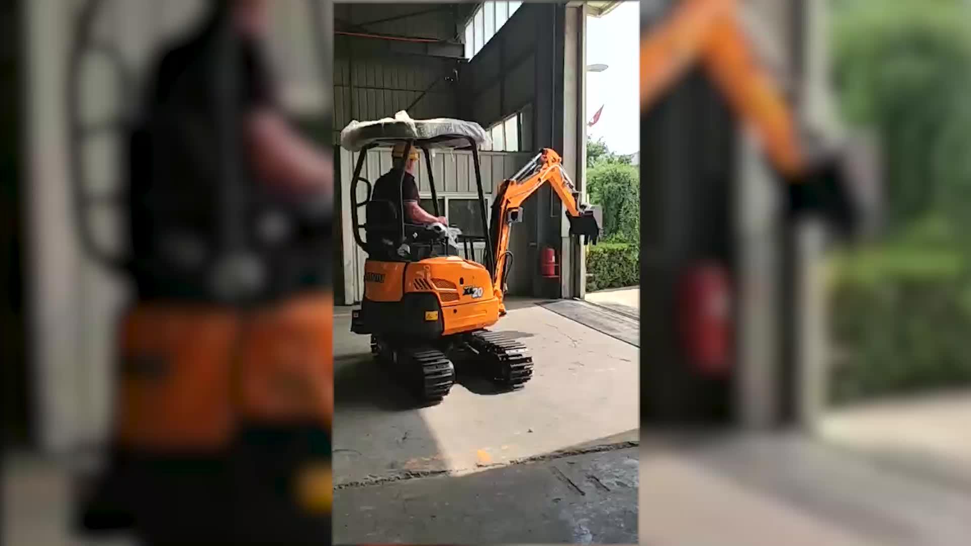 Chinese Brand 360 Degree Rotator 3t Mini Excavator