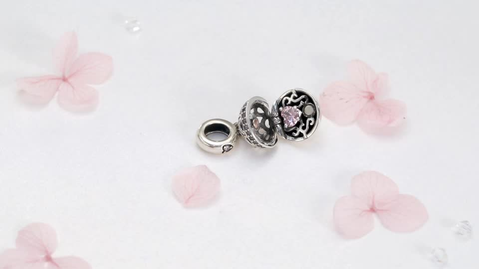2019 New Style Love Surprise 925 Sterling Silver Bead Charm For Girls